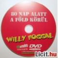 80 Nap Alatt a Föld Körül Willy Foggal Jogtiszta DVD Használt (2kép :)