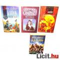 Eladó xx Használt könyv - 4db fantasy David Gemmel Legenda, Király a kapun túlról, Wayne Chapman Két Hold,