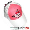 Eladó Angry Birds baseball sapka masnikkal, fehér-rózsaszín állítható pánttal