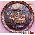 Eladó Kártyacsata, antik kocsmajelenet falidombormű