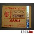 Eladó BKV Havibérlet (T.,Ny.) 2001 Május (Gyűjteménybe) (2képpel :)