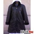 Eladó *Fekete puha bőrimitátor kabát 44-es