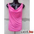 Eladó # H&M Pink ejtett nyakú ujjatlan felső M-es