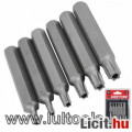 Eladó Bit készlet TORX T20-T50 75 mm, 6 részes DT65460