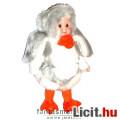 Eladó Porcelán Baba - Rút Kiskacsa jelmezben 16cm-es baba szövet ruhában