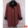 Eladó *Műszőrmével bélelt meleg női téli kabát 42-es