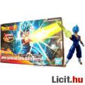 Eladó 16cm-es Dragon Ball Z figura - SSJ God Vegetto / Vegito kék hakú figura építő modell szett - új DBZ