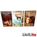 Eladó xx Használt könyv - 3db Valhalla Páholy fantasy - Abyss, Pokoli Tűz, Messiás-Tervezet- régi regény