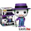 Eladó 10cmes Funko POP 337 Batman 1989 Joker figura - Klasszikus Jack Nicholson mozi megjelenésű DC Comics