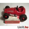 Eladó Pici Piros Műanyag Versenyautó (Gumi Kerekű) Megkímélt (8képpel)