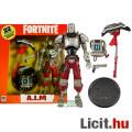 Eladó 18cm-es Fortnite figura - A.I.M / AIM robot kommandós katona mozgatható McFarlane figura - Pisztoly,