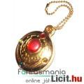 Sailor Moon / Holdtündér medál - 3cmes Bunny Átalakító Hold ékszere fügő fém Anime ékszer kulcstartó