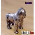 Eladó Miniatűr figura ónból, ezüst hátú gorilla