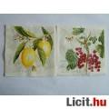 Eladó szalvéta - citrom és ribizli