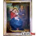 Eladó Franz Eder Szent család, antik festmény, 1872.