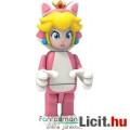 Eladó KNex Nintendo Super Mario figura - Cat Princess Peach hercegnő minifigura 4-5-es mozgatható, kompati