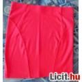 Újsz.j, Bershka piros meggy rubin színű mini szoknya S-es