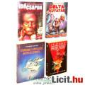 Eladó xx Használt könyv - 4db Scifi Időcsapda, Profundis, Delta Kutatás, Űrkrimi: Látogató a Világűrből  -