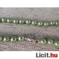 Nyugtató zöld kagylóhéj nyaklánc 46,5cm