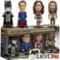 Eladó 7cmes Funko mini Wacky Wobbler 4db figura szett: Batman Superman Aquaman Wonder Woman - nagyfejű DC