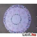 Eladó Régi kör alakú vászon hímzett terítő