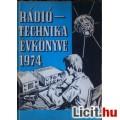 Eladó Rádiótechnika Évkönyve 1974