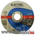 Eladó vágókorong hajlított, acélhoz/inoxhoz; 115×0,8×22,2mm