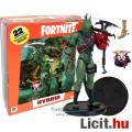 Eladó 18cm-es Fortnite figura - Hybrid gyík szörny ember katona mozgatható McFarlane figura - Pisztoly, Ba