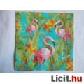 szalvéta - flamingók