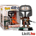 Eladó 10cmes Funko POP Star Wars - The Mandalorian figura - POP 326 Gyűjtői Csillagok Háborúja karikatúra