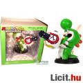 Eladó 16cm-es Super Mario Rabbids Kingdom Battle figura - Rabbid Yoshi nyuszi dínó szobor Ubicollecibles N