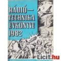 Eladó Rádiótechnika Évkönyve 1982