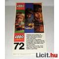 LEGO Reklámanyag 1972 Angol (97320-OS Eng.) 3képpel :)