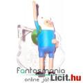 Eladó Adventure Time / Kalandra Fel 5-6cm mini figura - Finn integető karral és alátehető talapzattal - Ca