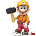 Eladó KNex Nintendo Super Mario figura - Mario Maker minifigura kalapáccsal 4-5-es mozgatható, kompatibili