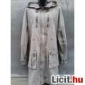 Eladó * Crazy World Női vászon kapucnis átmeneti kabát kb. 40-es