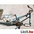 Retro Kislány Kerékpár Váz (60-70-es évek) talán Szovjet 4kép Felújítá