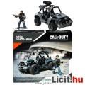 187 elemes Call of Duty Mega Bloks / Construx autó és figura - ATV Ground Recon - DXB63 terepjáró és