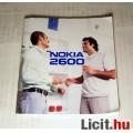 Eladó Nokia 2600 Felhasználói Kézikönyv (2005)